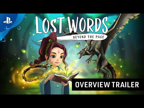 Lost Words: Beyond the Page - Game Overview Trailer | PS4