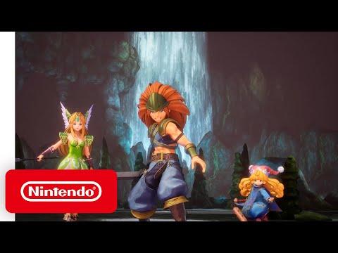 Nintendo Switch - Trials of Mana  - Demo Trailer