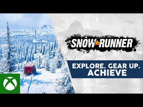 SnowRunner - Explore. Gear Up. Achieve.