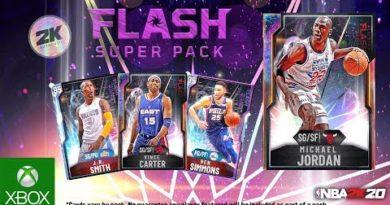 NBA 2K20 MyTEAM: Flash Super Pack
