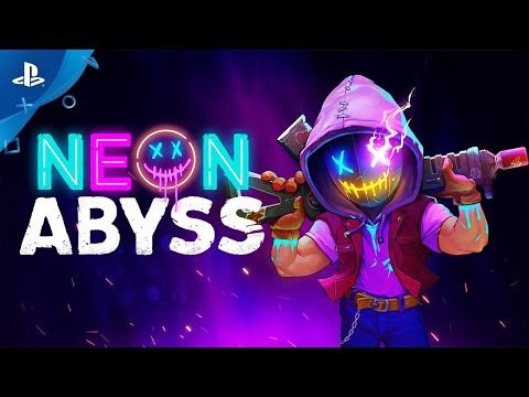Neon Abyss - Console Announcement Trailer | PS4