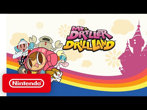 Nintendo Switch - Mr. DRILLER DrillLand  - Announcement Trailer