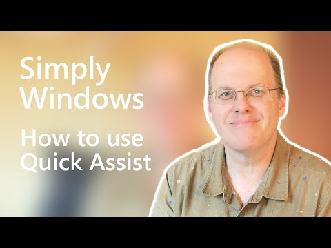 How to use Quick Assist   Simply Windows