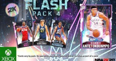 NBA 2K20 MyTEAM: Flash Pack 4