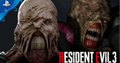 Resident Evil 3 – 1999 vs. 2020 Gameplay Comparison | PlayStation Underground