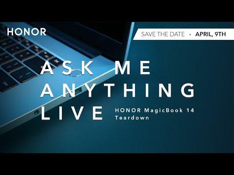 Join the HONOR Magicbook 14 | Live AMA | Teardown
