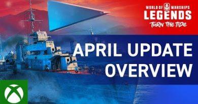World of Warships: Legends - April Update Overview Trailer