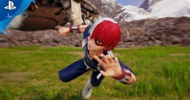 Jump Force - Todoroki Trailer   PS4