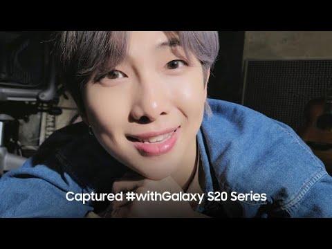 Galaxy X BTS: RM and Galaxy Z Flip l Samsung