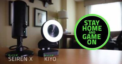 Razer Kiyo & Seirēn X   Stay Home and Game On