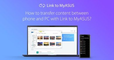 How to transfer content between phone and PC with Link to MyASUS?   ASUS
