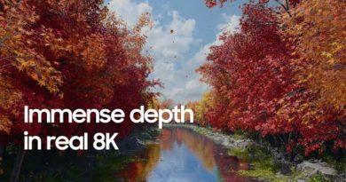 QLED 8K: Immense depth in real 8K | Samsung