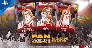 NBA 2K20 - MyTEAM: Fan Favorites 2 Pack | PS4