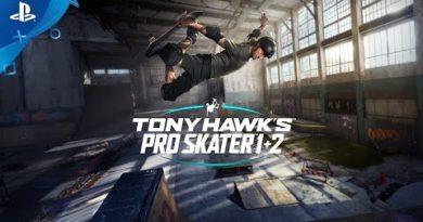 Tony Hawk's Pro Skater 1 + 2 - Announce Trailer | PS4