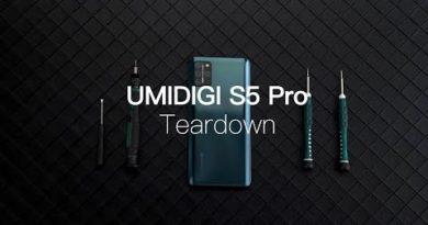 UMIDIGI S5 Pro Teardown: Beautiful Outside, Powerful Inside!