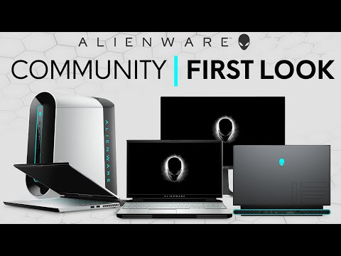 Alienware Community First Look: New Area-51m R2, m15/m17 R3 and Aurora R11
