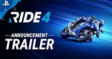 Ride 4 - Announcement Trailer | PS4