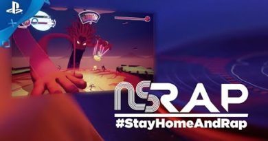 No Straight Roads - #StayHomeAndRap | PS4