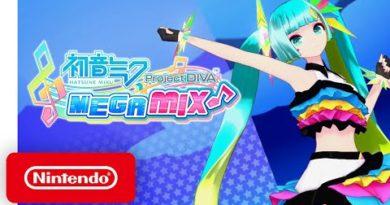 Hatsune Miku: Project DIVA Mega Mix - Launch Trailer - Nintendo Switch