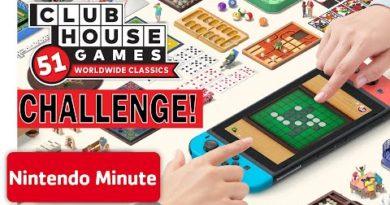 Clubhouse Games: 51 Worldwide Classics Nintendo Minute CHALLENGE!