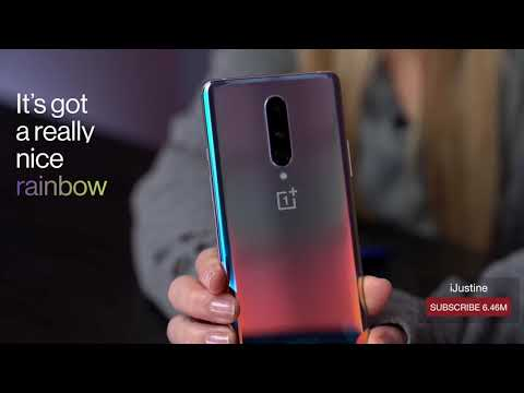 OnePlus 8 Interstellar Glow - One Million Colors in One
