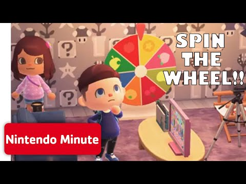Animal Crossing: New Horizons Spin the Wheel Challenge!