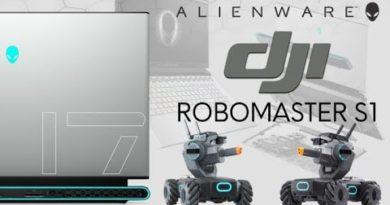 AWFH: DJI ROBOMASTER S1 & ALIENWARE M17