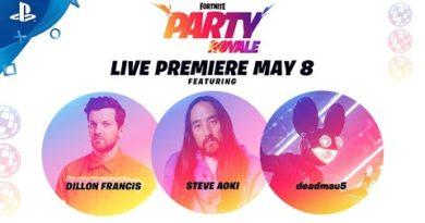 Fortnite - Party Royale Premiere Trailer | PS4