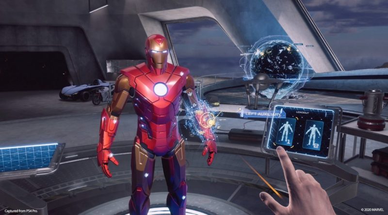 Behind the Scenes: Tinker on the Impulse Armor in Tony's garage in Marvel's Iron Man VR