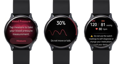 Samsung Launches the Samsung Health Monitor Application with Blood Pressure Measurement