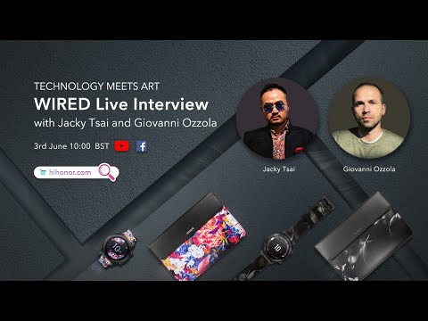 WIRED Live Interview with Jacky Tsai and Giovanni Ozzola