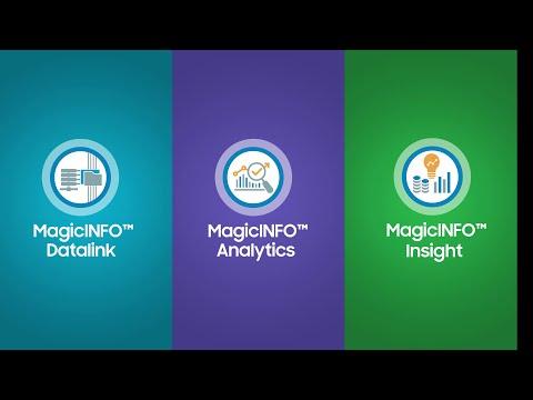 MagicINFO™ 8 Data Management Campaign Video | Samsung