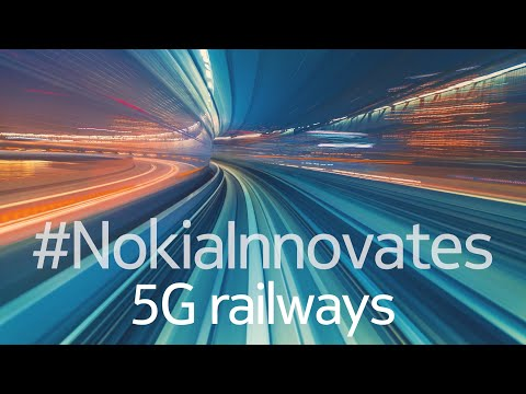 Nokia's innovations in 5G Rail across Europe