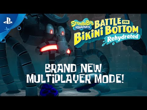 SpongeBob SquarePants: Battle for Bikini Bottom - Rehydrated - Multiplayer Trailer | PS4