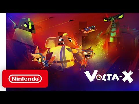 Volta-X - Reveal Trailer - Nintendo Switch
