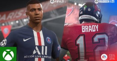 Feel Next Level in FIFA 21 and Madden 21 (Xbox Series X)