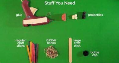 STEM At Home Episode #3: Rubber Band Catapult Test