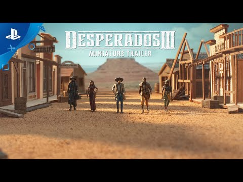 Desperados III - Miniature Trailer | PS4