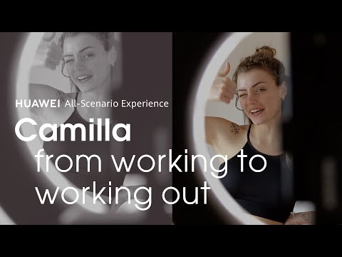 From working to working out - Camilla Mangiapelo #StayConnected
