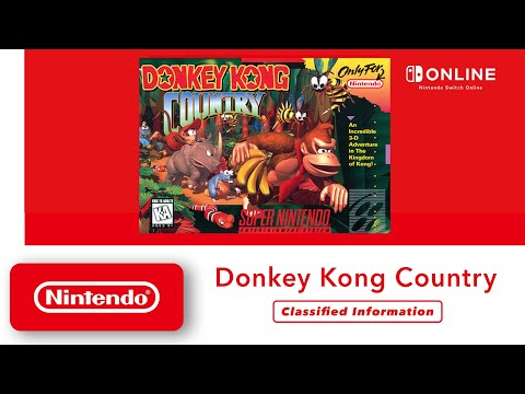 Donkey Kong Country - Classified Information - Nintendo Switch Online