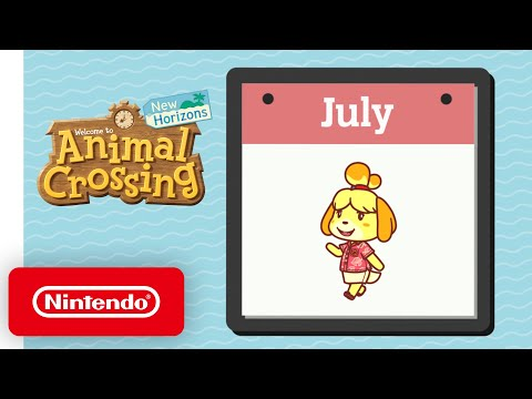 Animal Crossing: New Horizons – Exploring July - Nintendo Switch