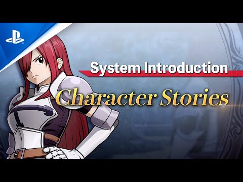 Fairy Tail -  Characters & Features Trailer | PS4