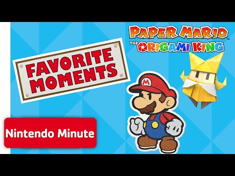 We Play Paper Mario: The Origami King – Favorite Moments!