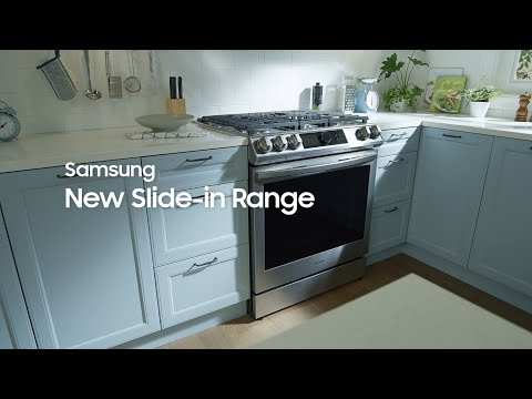 New Slide-in Range with Air Fry|Samsung
