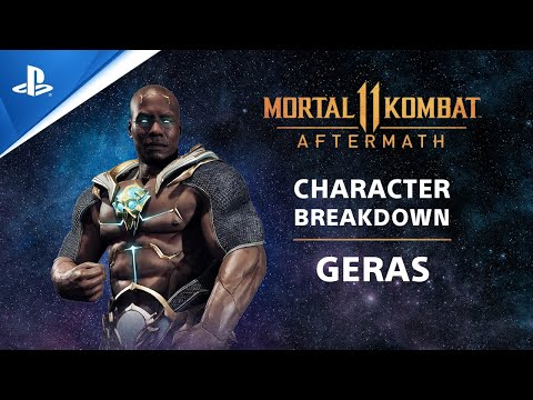 Mortal Kombat 11: Aftermath - Character Breakdown: Geras | PS Competition Center