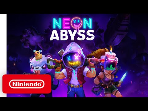 Neon Abyss - Launch Trailer - Nintendo Switch