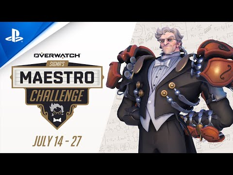 Overwatch - Release Date Announcement: Sigma's Maestro Challenge | PS4
