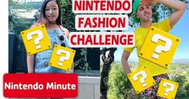 Nintendo Fashion Show Challenge