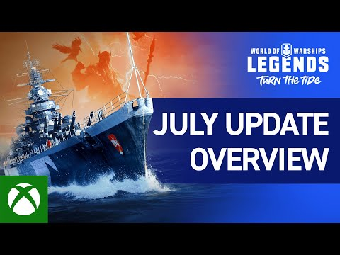 World of Warships: Legends - July Update Overview - duncannagle.com