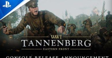 Tannenberg - Release Announcement Trailer   PS4